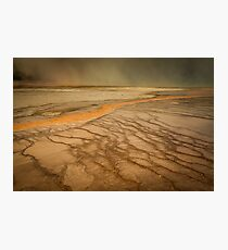 Mars or Earth? Photographic Print
