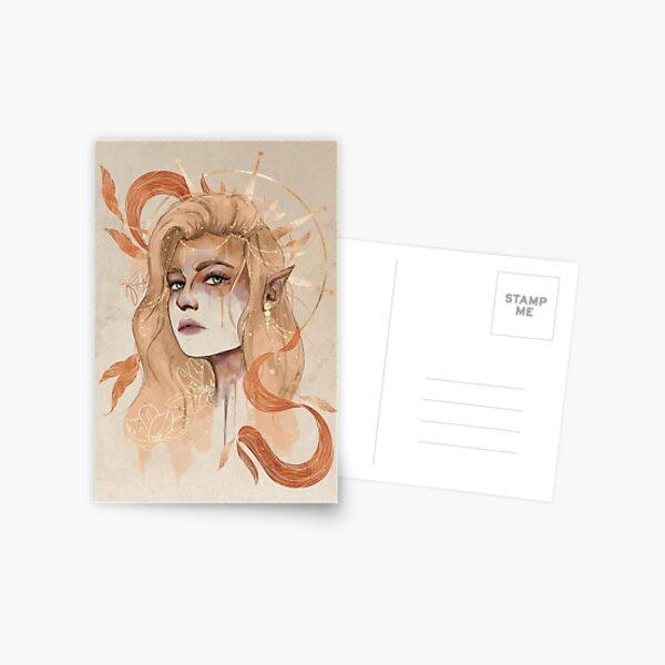 Celestial Aelin Postcard