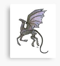 Thestral #3 Canvas Print