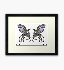 Thestral #3 Double Framed Print