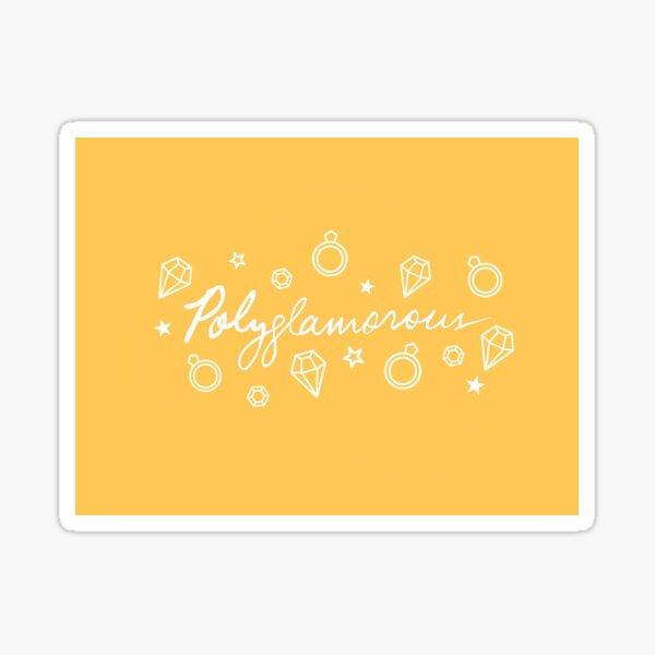 Polyglamorous Sticker