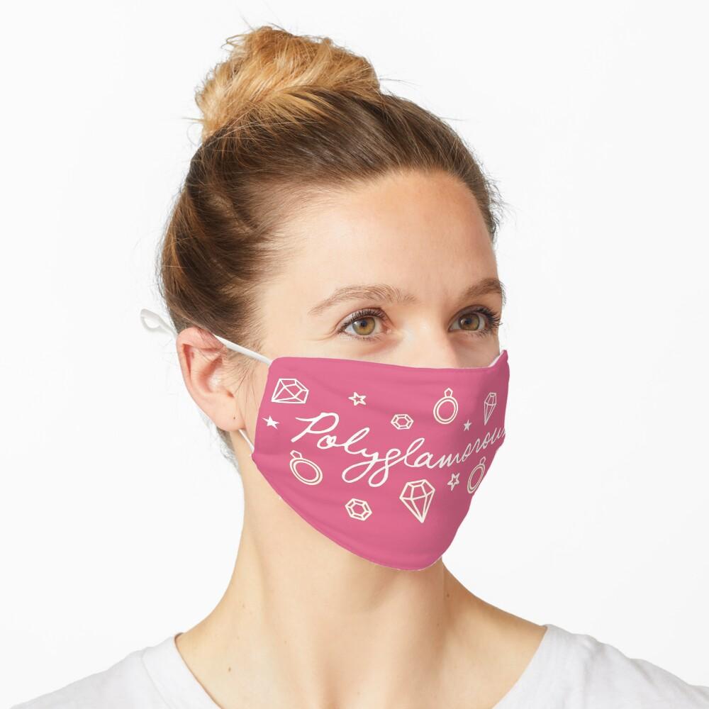 Polyglamorous Pink Mask