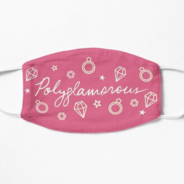 Polyglamorous Pink Flat Mask