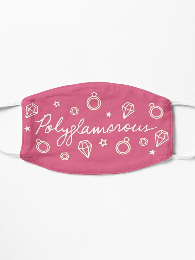Alternate view of Polyglamorous Pink Mask