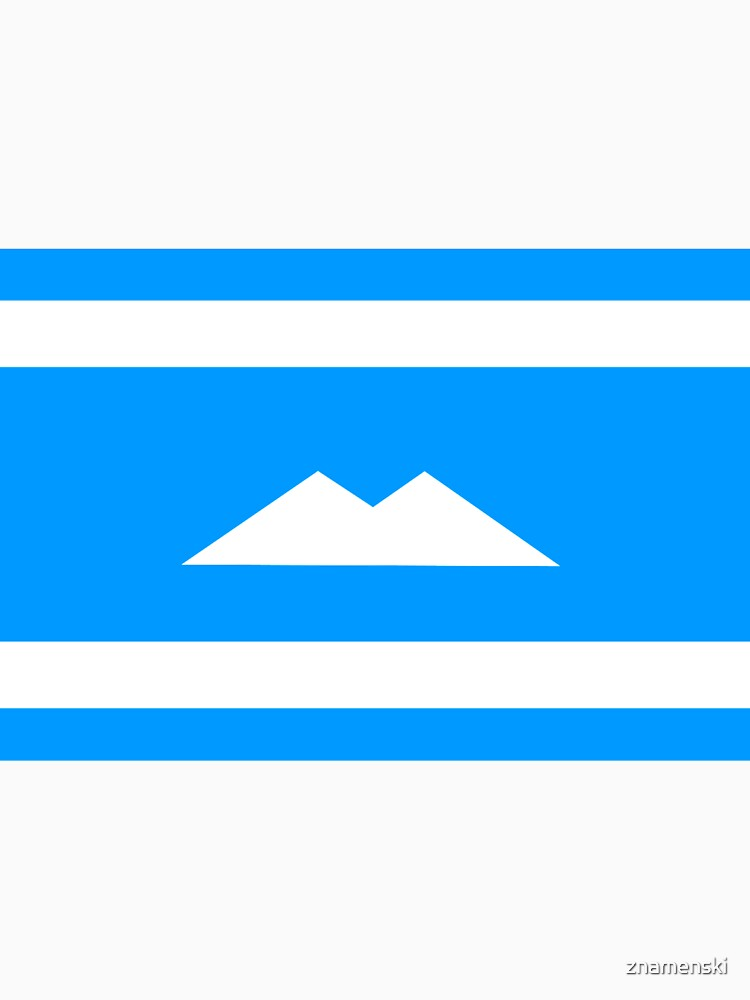 Ethnic flag of the Balkar and Karachay peoples by znamenski