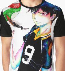 Haikyuu: Tobio Kageyama Grafik T-Shirt