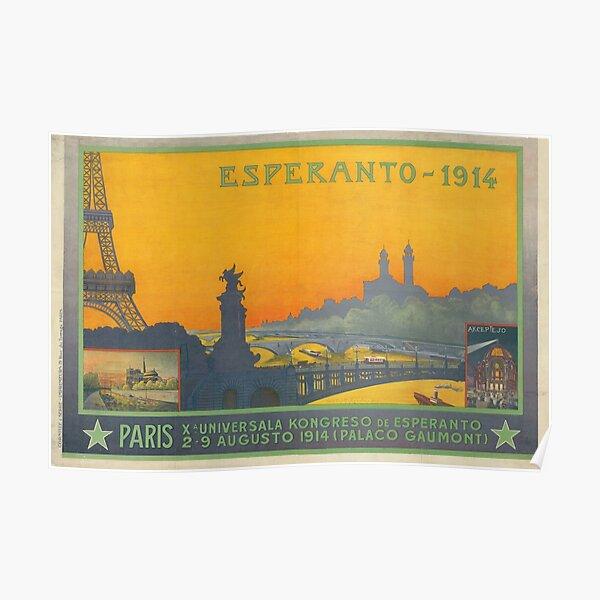 Parizo 1914 Poster