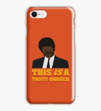 This is a tasty burger. iPhone Case/Skin