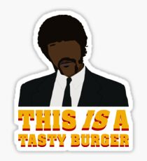 This is a tasty burger. Sticker