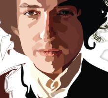 Bob Dylan Music Icon Sticker