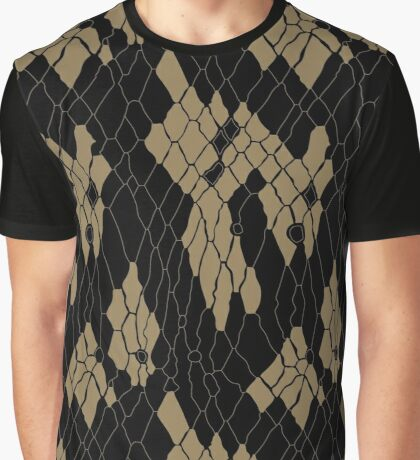 Animal Skin Graphic T-Shirt