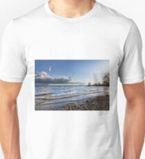 Kite Surfer near Fischbach - Lake Constance, Germany T-Shirt