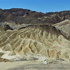 Zabriskie Point View I, Death Valley, Inyo County, CA by Rebel Kreklow