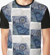 Denim & Lace - iPhone Case Graphic T-Shirt
