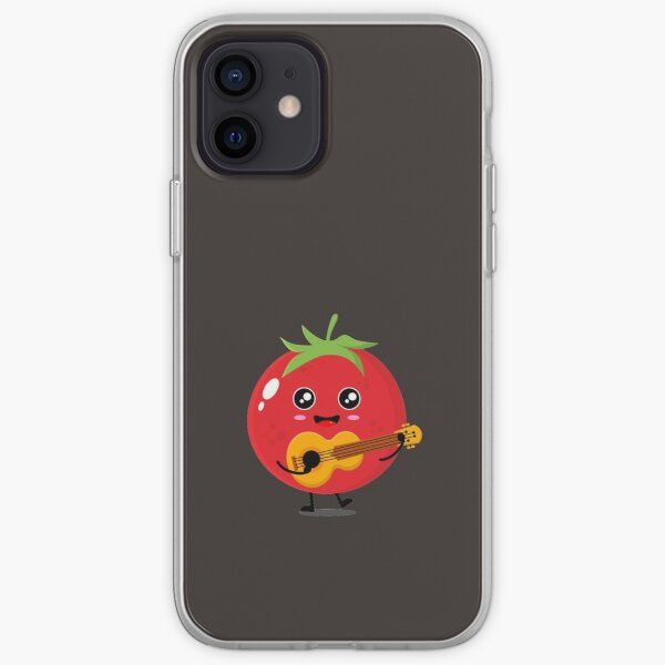 Dancing Tomato iPhone Soft Case