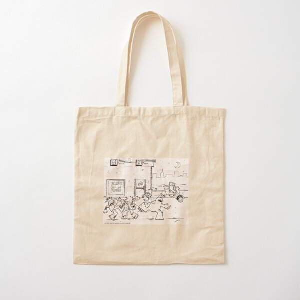 Streetfight! Cotton Tote Bag
