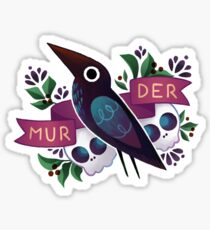 Murder Crow Sticker
