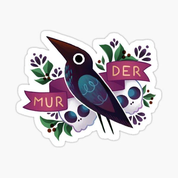 Murder Crow Sticker