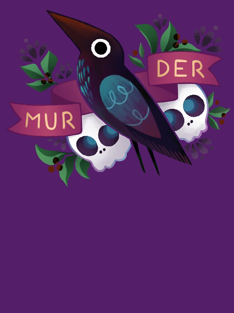 Murder Crow by ginkoseed