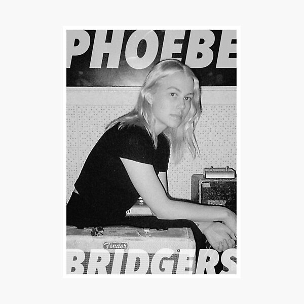 phoebe poster  Photographic Print