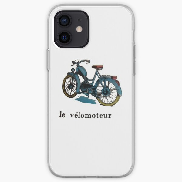 Mobylette Coque souple iPhone