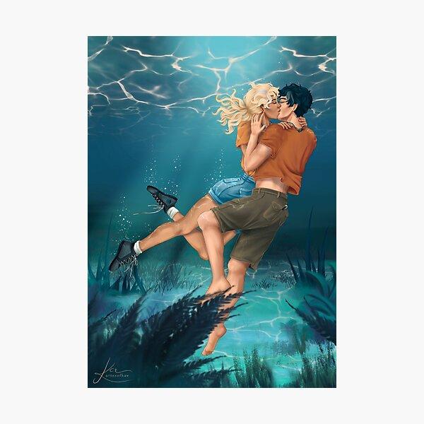 The Underwater Kiss Photographic Print