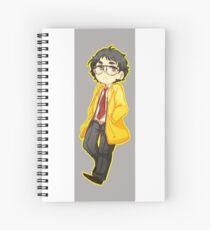 adootchi (glasses) Spiral Notebook