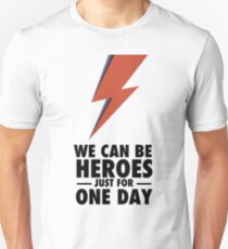David Bowie (HEROES) T-Shirt