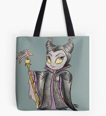 Chibi Maleficent  Tote Bag