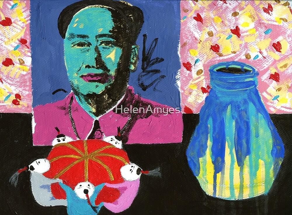 Mao's pincushion by HelenAmyes