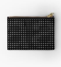 Subtle A in dots Zipper Pouch