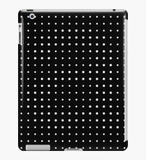 Subtle A in dots iPad Case/Skin