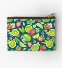 Strawberry and lime Studio Pouch