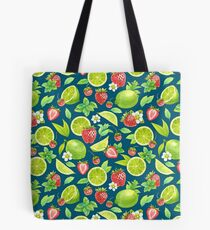 Strawberry and lime Tote Bag
