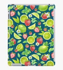 Strawberry and lime iPad Case/Skin