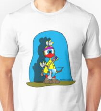 "Rick the chick ""INDIAN CHICK"" T-Shirt"