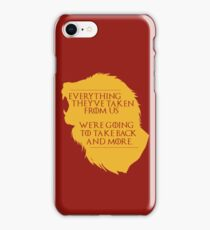 House Lannister: Everything They've Taken iPhone Case/Skin