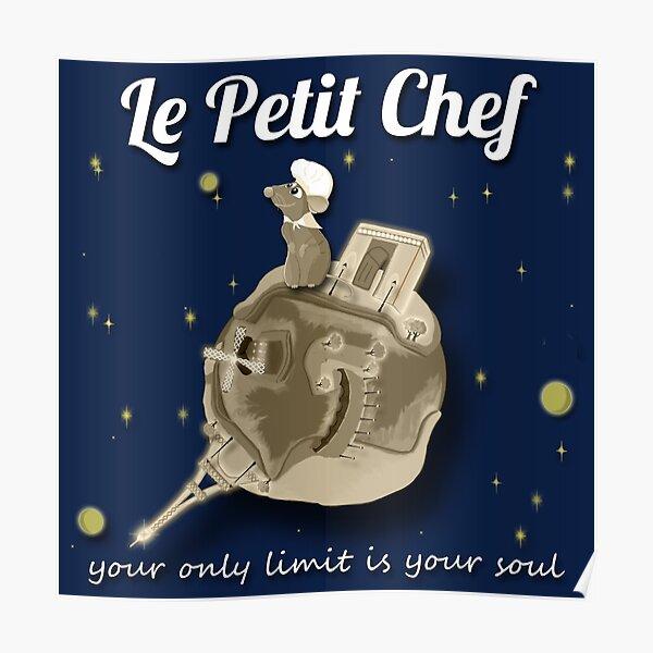 Le Petit Chef (monotone) Poster