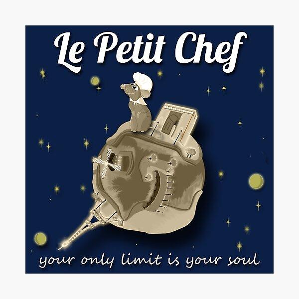 Le Petit Chef (monótono) Lámina fotográfica