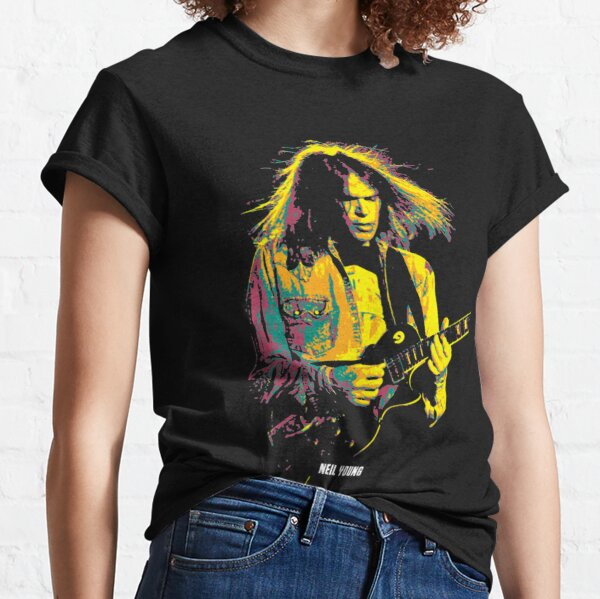 Neil Young a Canadian -American singer-songwriter, musician, and activist Classic T-Shirt
