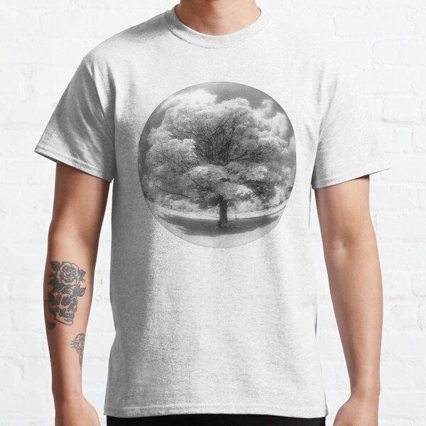 Infrared fisheye tree Classic T-Shirt