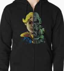 Face Off Zipped Hoodie