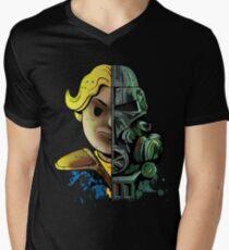Face Off Men's V-Neck T-Shirt