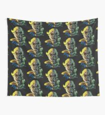 Face Off Wall Tapestry