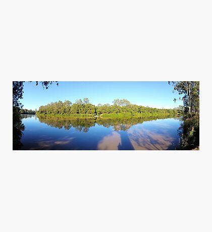 Logan River Panorama  Photographic Print