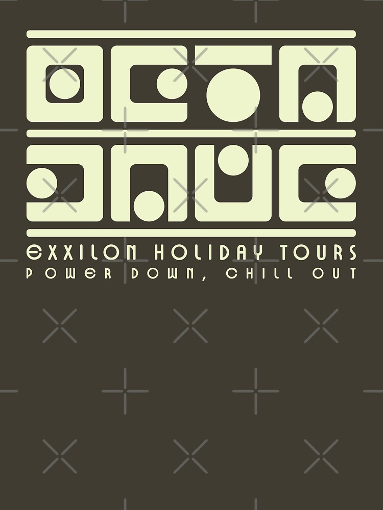 Exxilon Holiday Tours — Power Down, Chill Out by squinter-mac