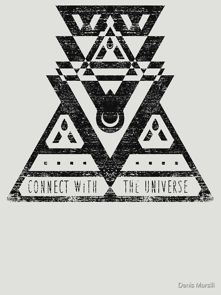 Connect With The Universe - Typography and Geometry by ddtk