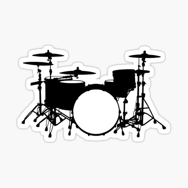 Drum kit  Sticker