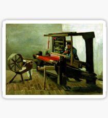 Vincent van Gogh Weaver Sticker