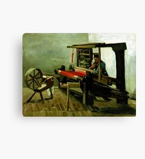 Vincent van Gogh Weaver Canvas Print